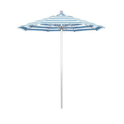 ALTO758002-58029 7.5' Venture Series Commercial Patio Umbrella With Silver Anodized Aluminum Pole Fiberglass Ribs Push Lift With Sunbrella 2A Cabana