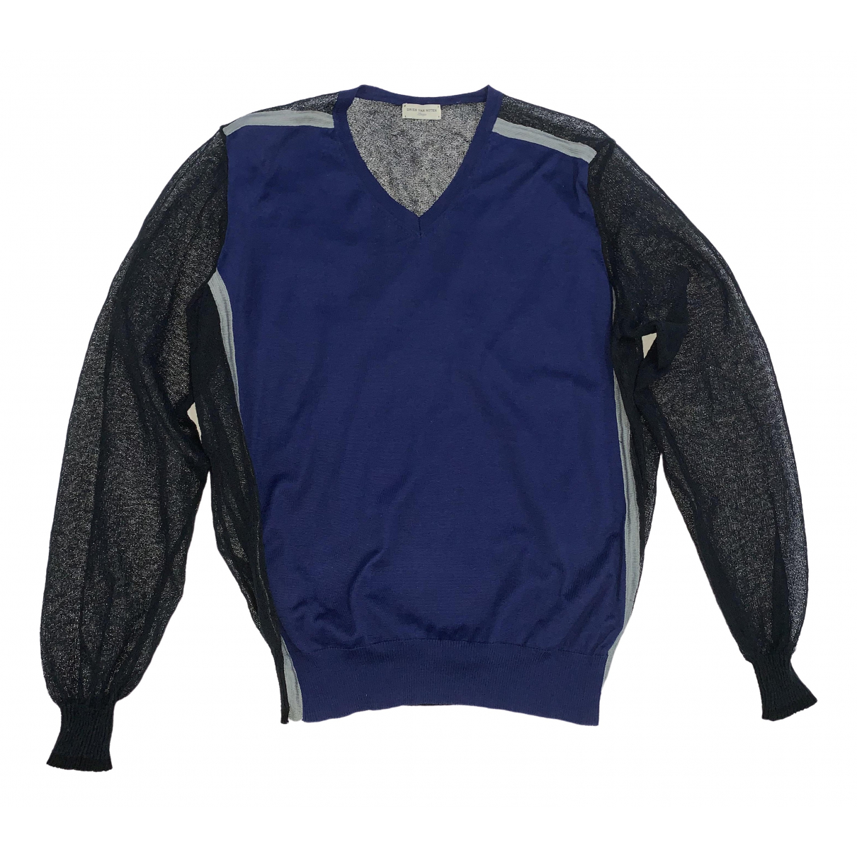 Dries Van Noten \N Blue Wool Knitwear & Sweatshirts for Men L International