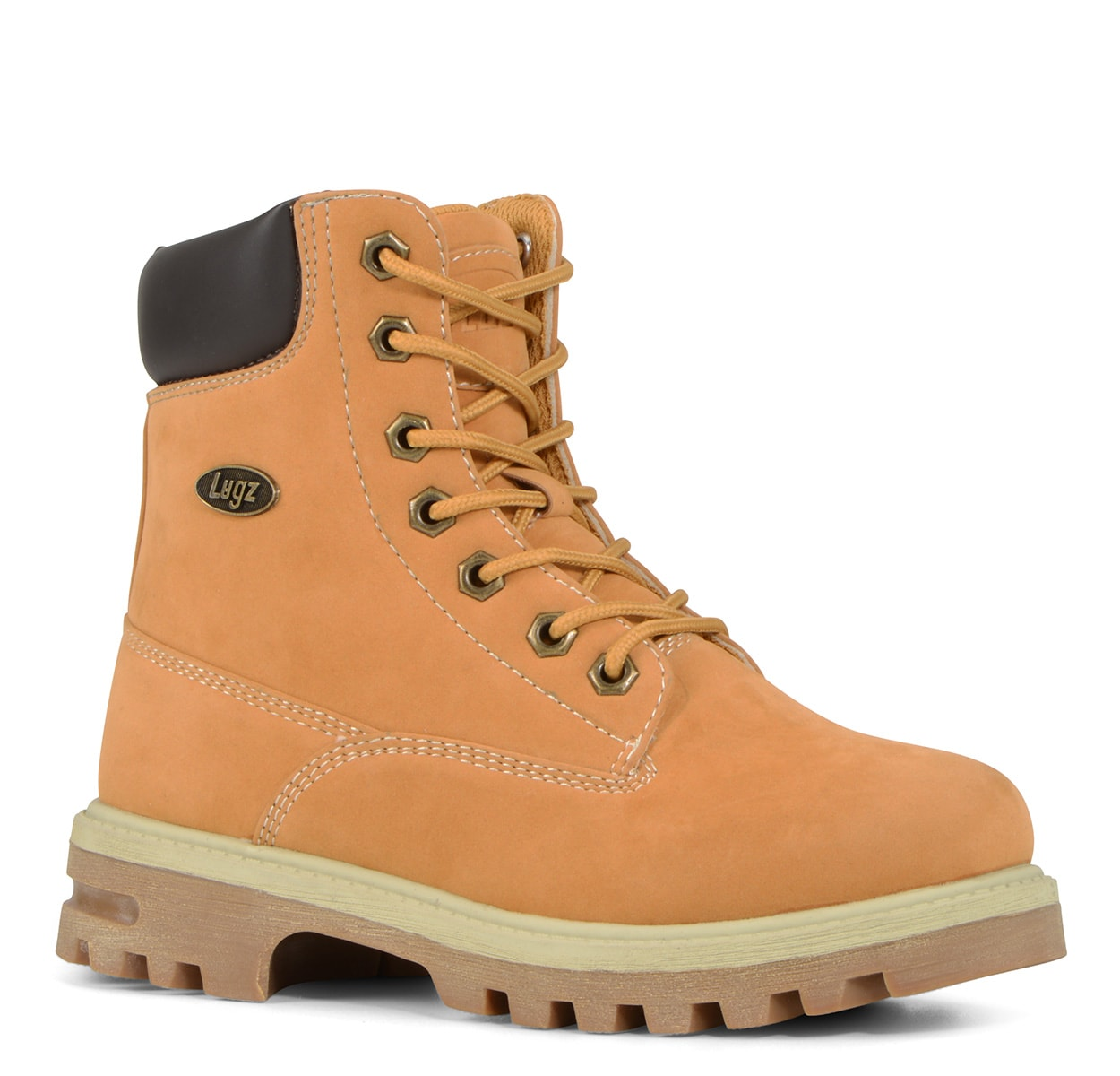 Gradeschool Empire Hi Water Resistant 6-Inch Boot (Choose Your Color: GOLDEN WHEAT/BARK/CREAM, Choose Your Size: 6.5)