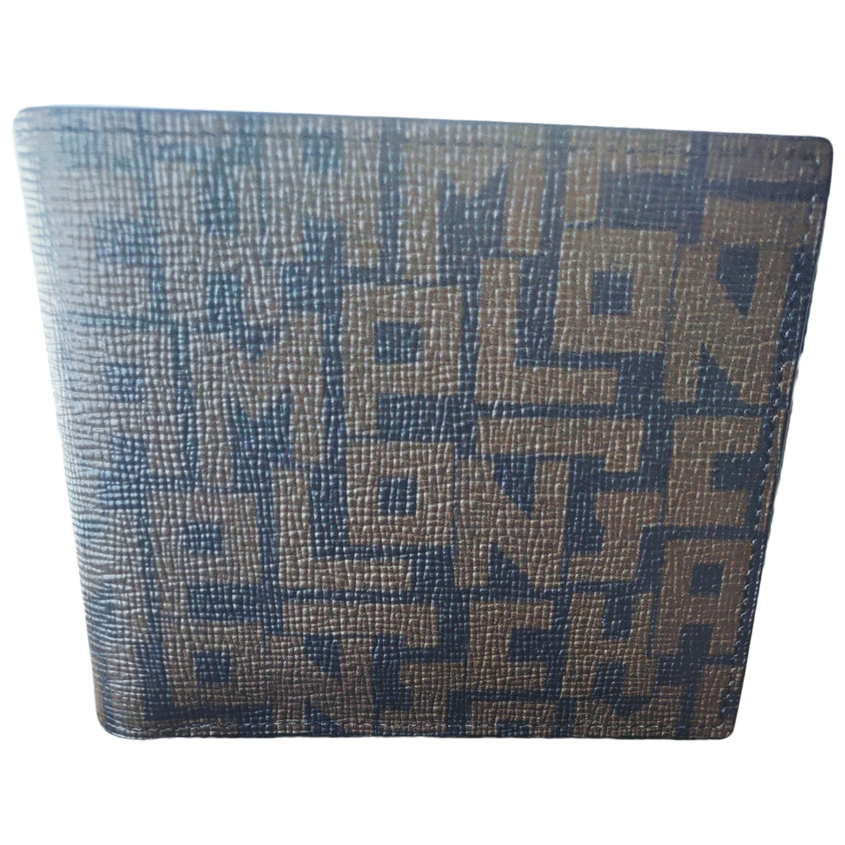 Longchamp \N Brown Exotic leathers wallet for Women \N