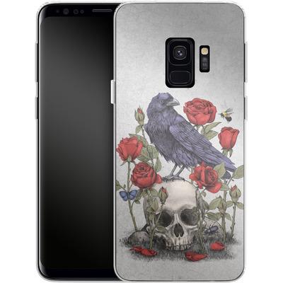 Samsung Galaxy S9 Silikon Handyhuelle - Memento Mori von Terry Fan