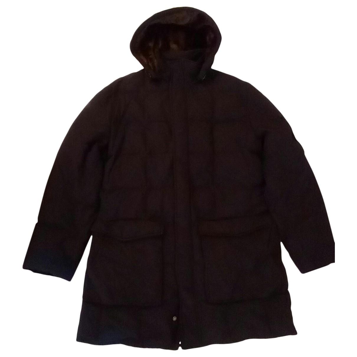 Woolrich \N Black Cotton jacket for Women XXL International