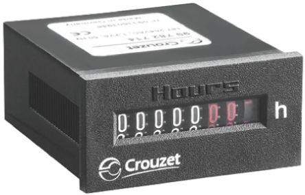 Crouzet CHM24, 7 Digit, Mechanical, Counter, 30 V ac