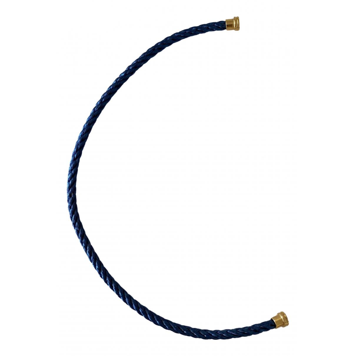 Pulsera Cable de Oro amarillo Fred