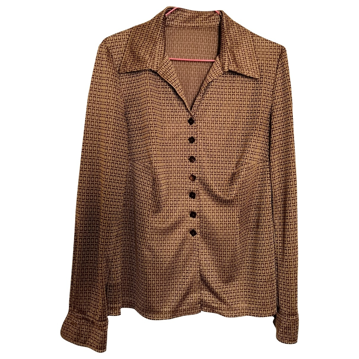 Non Signé / Unsigned \N Brown  top for Women 38 FR