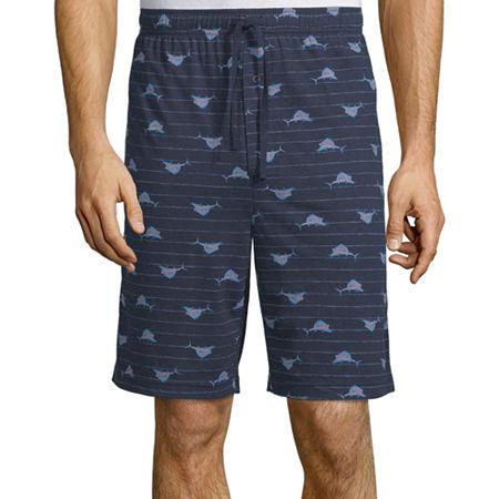 Stafford Pajama Shorts, X-large Tall , Blue
