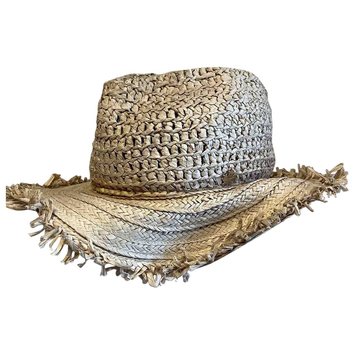 Dsquared2 - Chapeau   pour femme en paille - beige