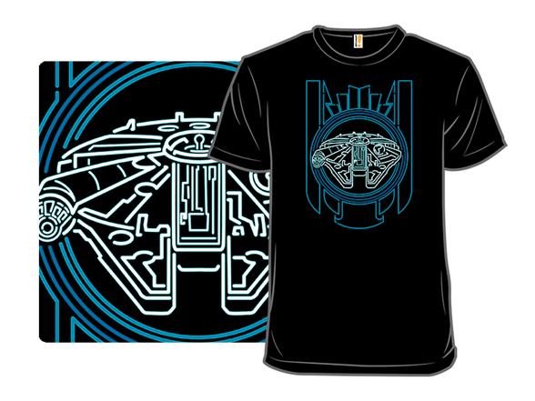 Neon Falcon T Shirt