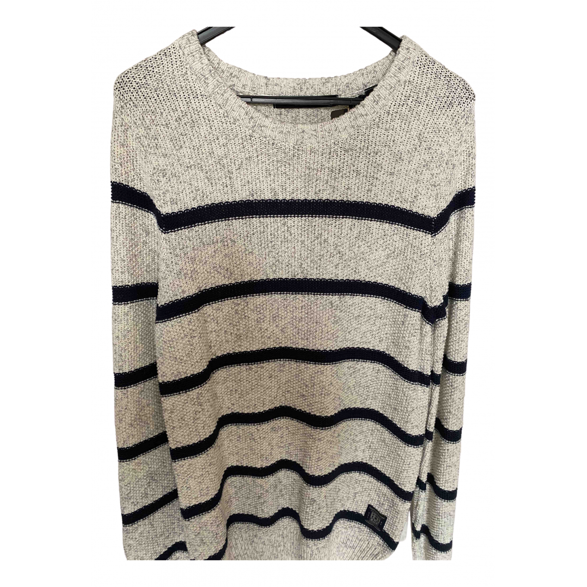Scotch & Soda \N Pullover.Westen.Sweatshirts  in  Grau Baumwolle