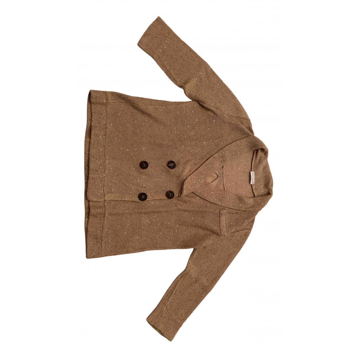 Brunello Cucinelli \N Beige Cotton jacket for Women M International