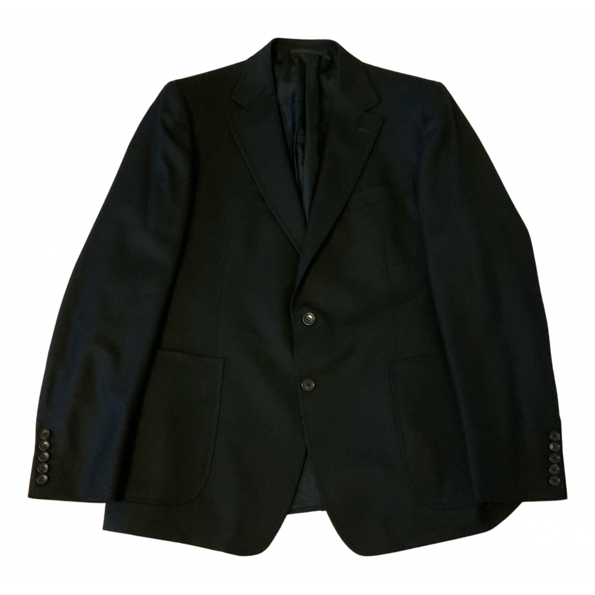 Gucci N Black Wool jacket  for Men 56 FR