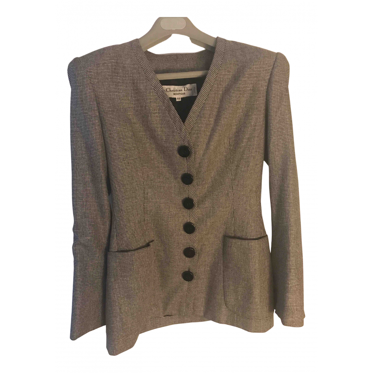 Dior N Grey jacket for Women 40 FR
