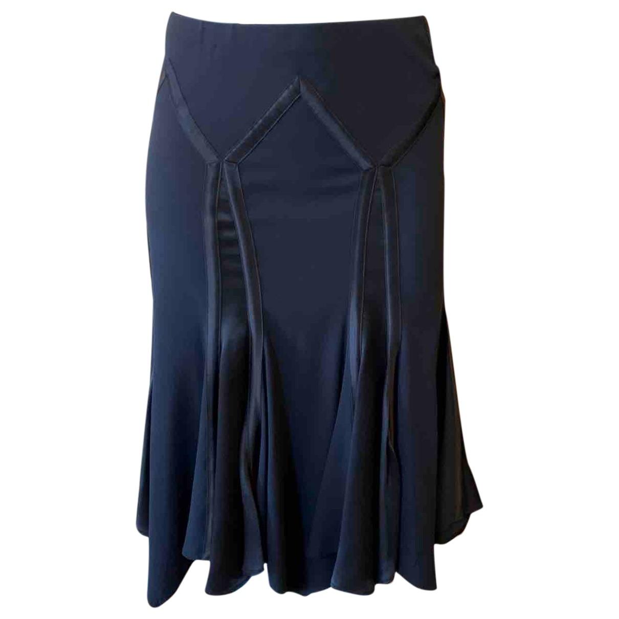 Roberto Cavalli \N Black Silk skirt for Women M International