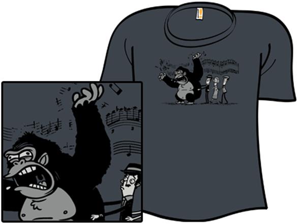 King Konga Line T Shirt