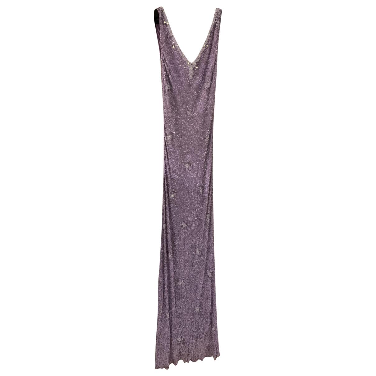 Jenny Packham - Robe   pour femme en a paillettes - violet
