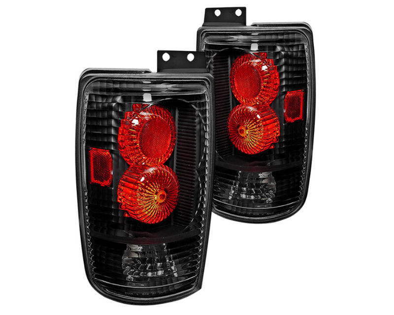 Winjet WJ20-0018-04 Clear Black Altezza Tail Lights Ford Expedition 97-02