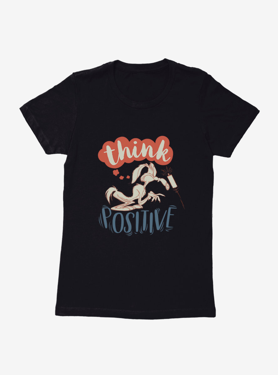 Looney Tunes Think Positive Womens T-Shirt