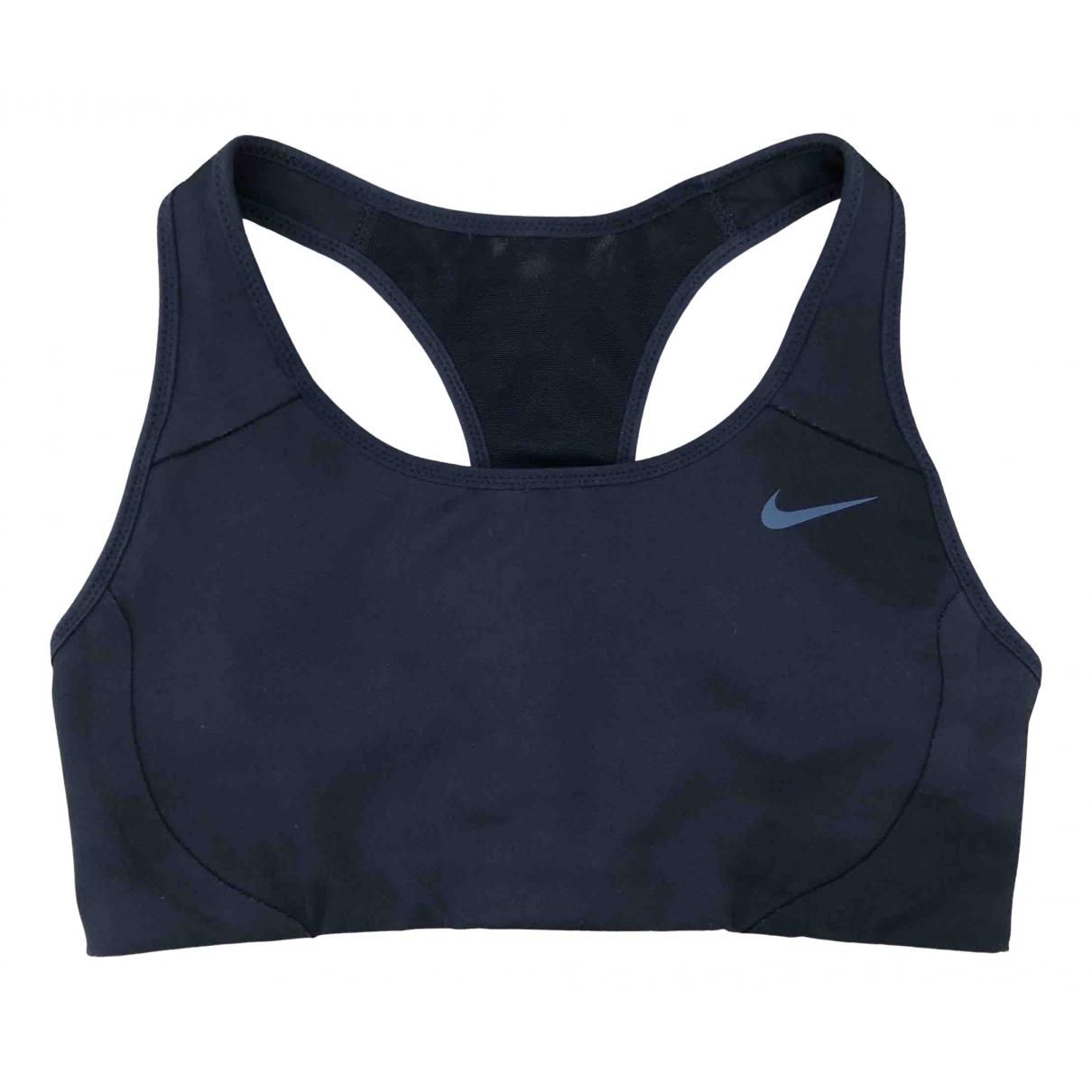 Nike \N Top in  Schwarz Polyester