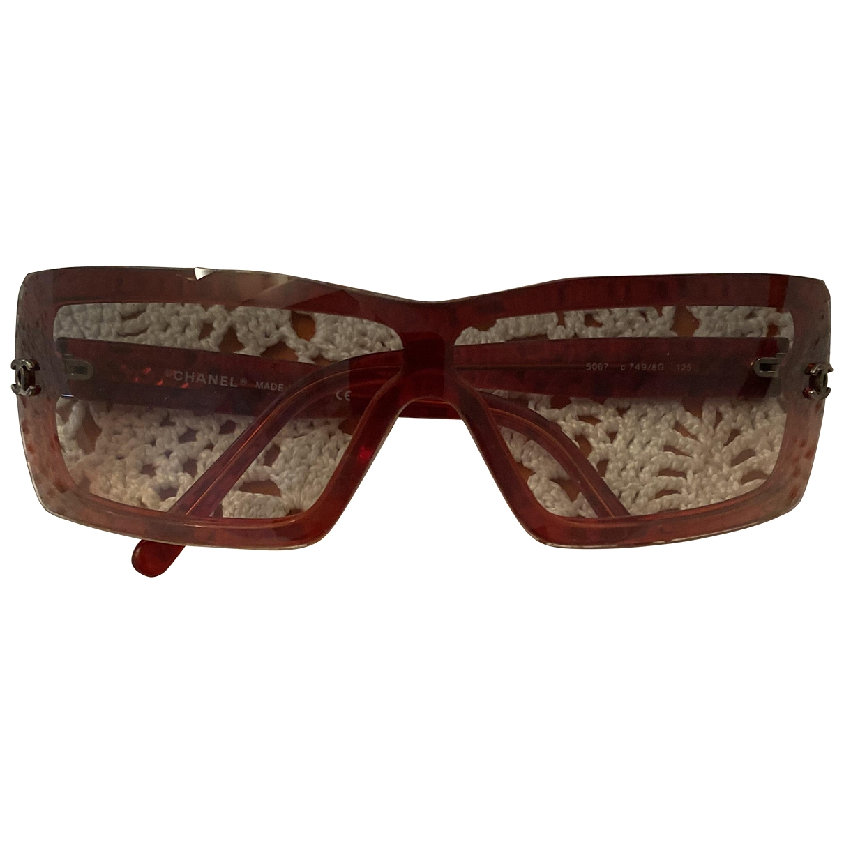 Chanel \N Red Sunglasses for Women \N