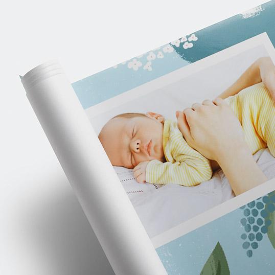 Baby + Kids Photo Banner 2x8, Home D�cor -Organic Welcome