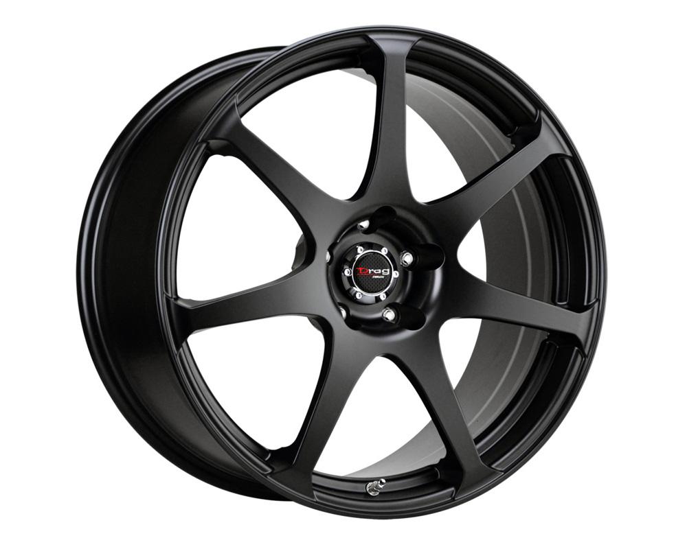 Drag DR-48 Flat Black Full Painted 19x8 5x120 38