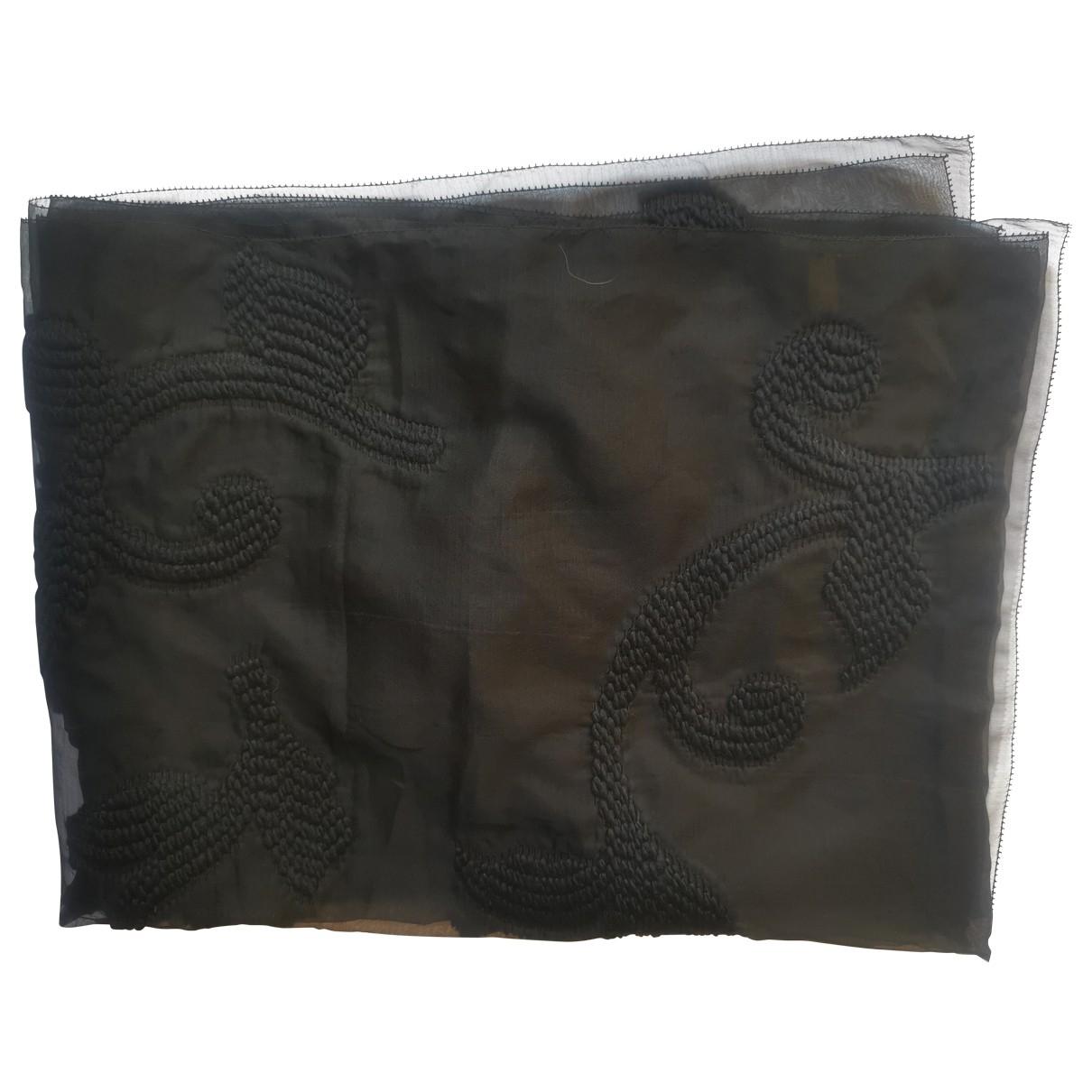 Fendi - Foulard   pour femme en soie - noir
