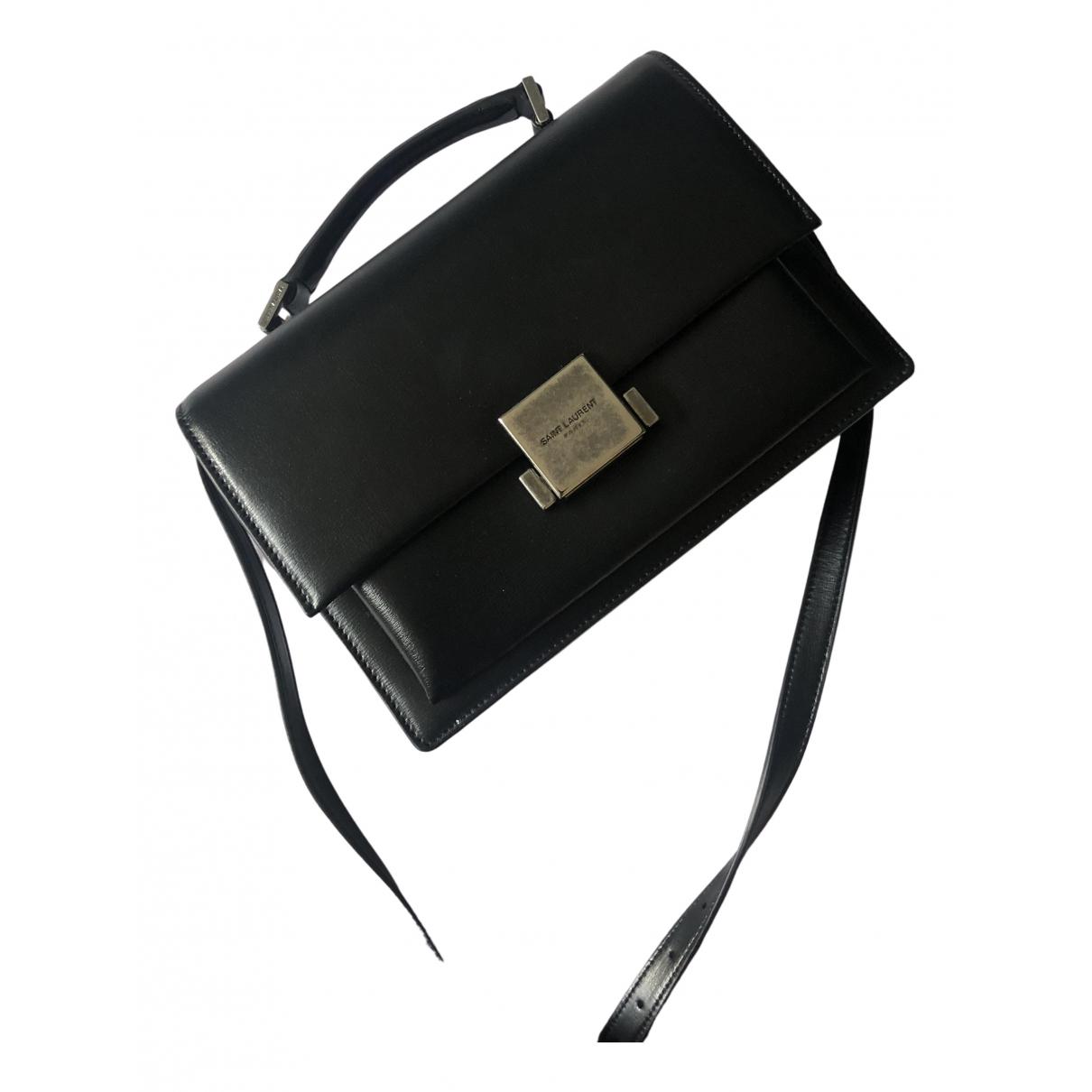Saint Laurent Bellechasse Handtasche in  Schwarz Leder