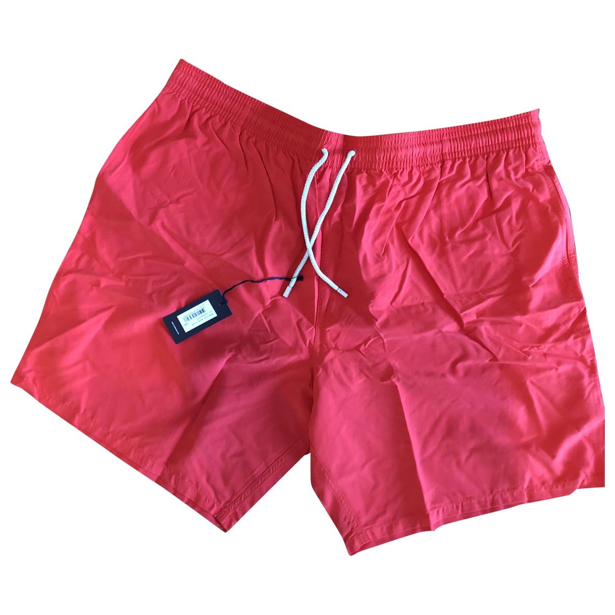 Vilebrequin - Bain   pour homme en coton - elasthane - rouge