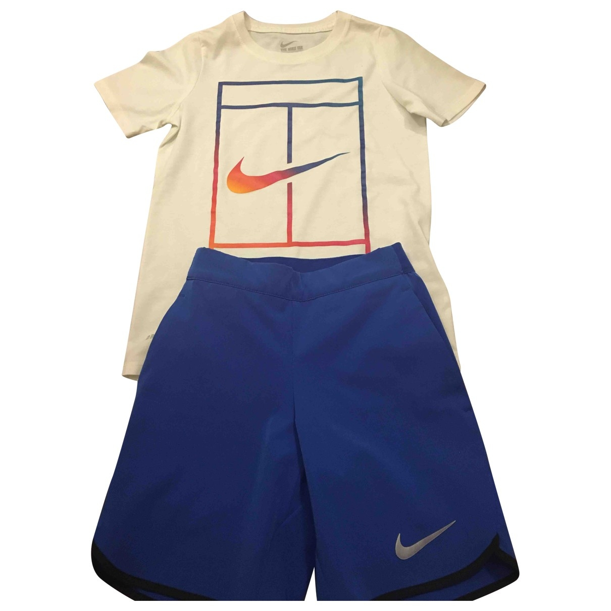 Nike \N Sets in  Blau Polyester