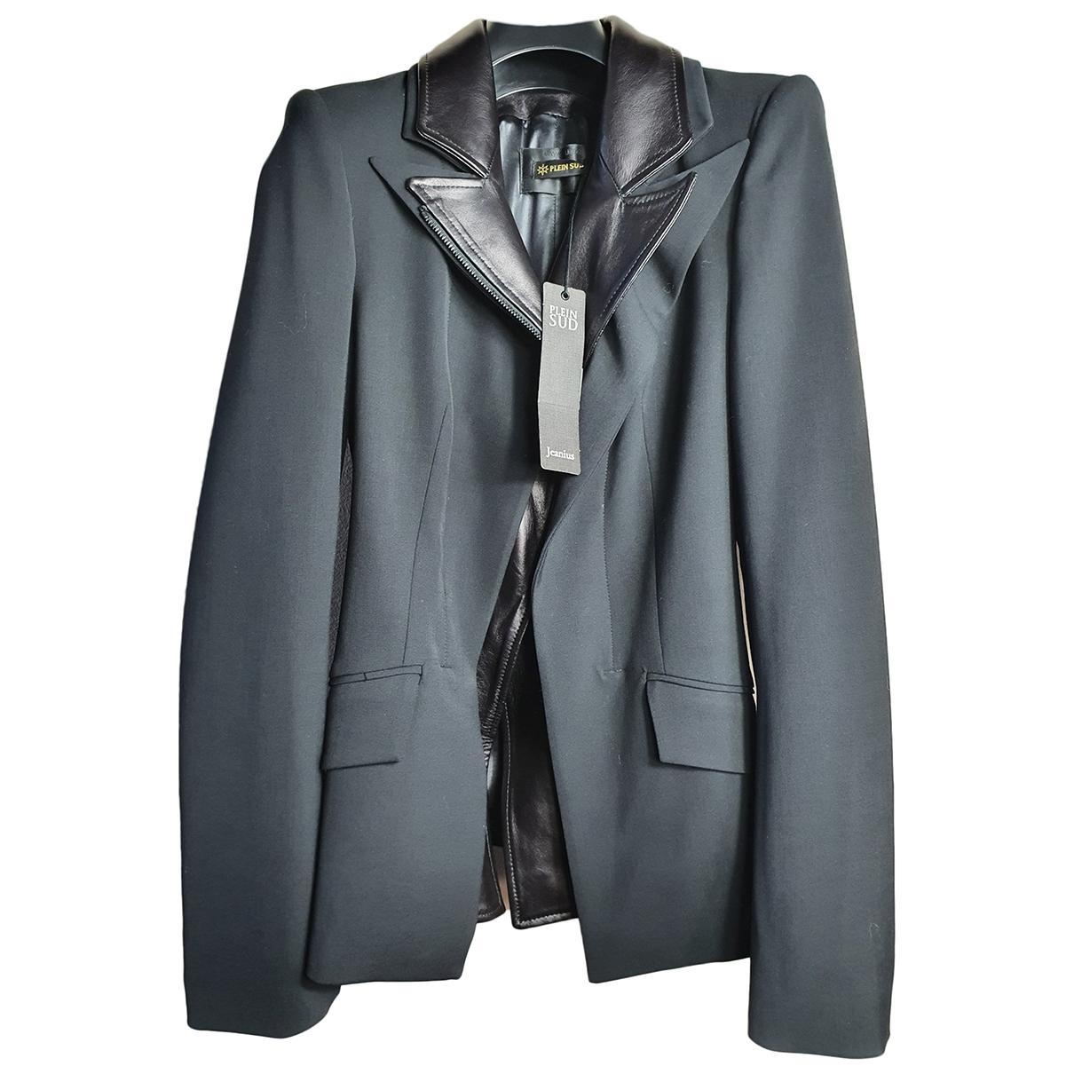Plein Sud \N Black jacket for Women 42 IT