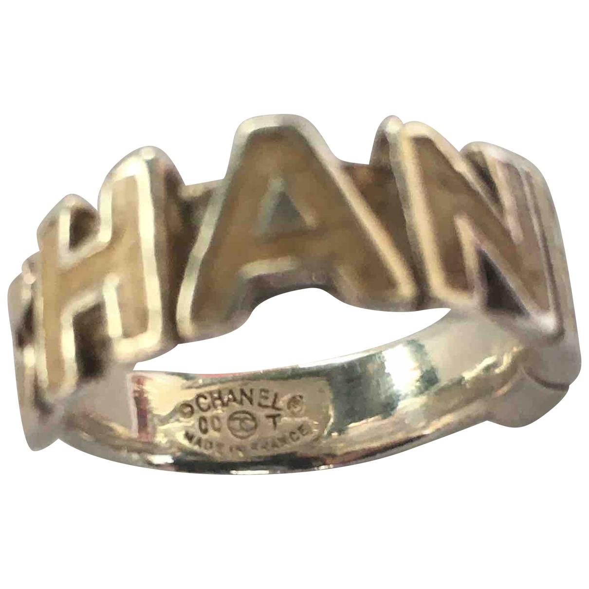 Chanel - Bague CHANEL pour femme en metal - argente