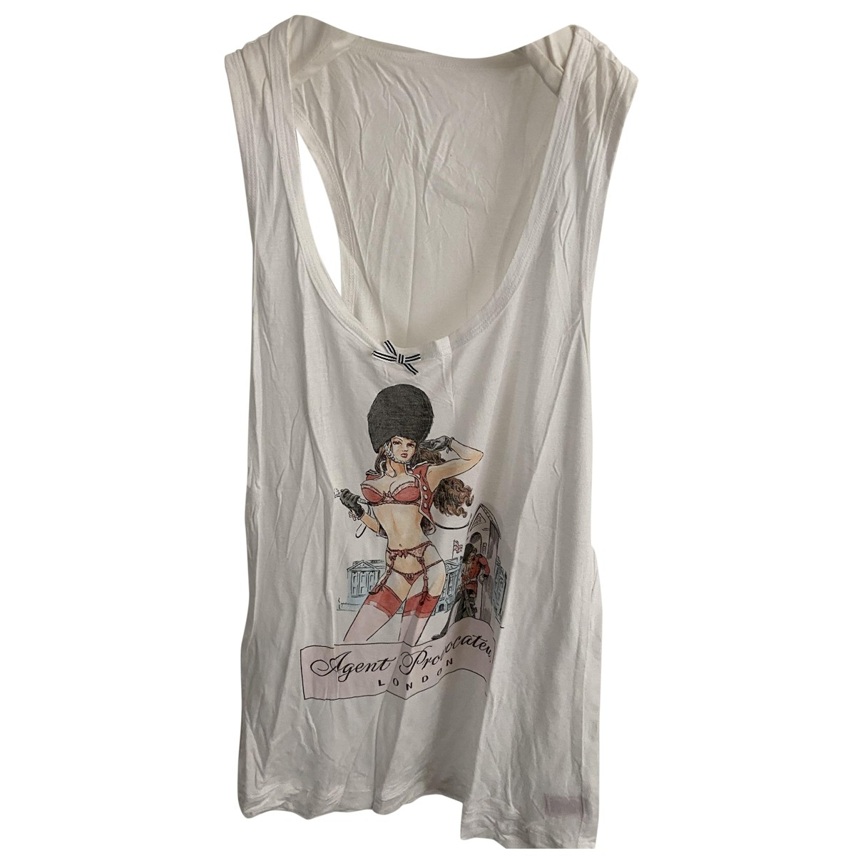 Agent Provocateur \N White Cotton  top for Women L International