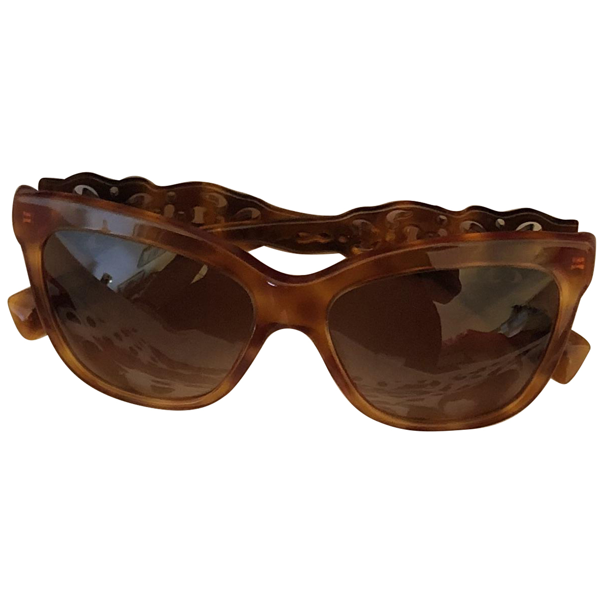 Dolce & Gabbana \N Brown Sunglasses for Women \N