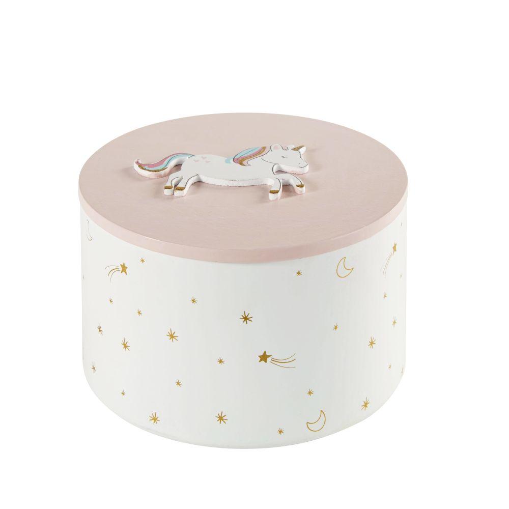 Box, rosa mit Spiegel