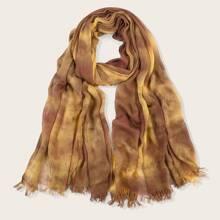 Schal mit Batik