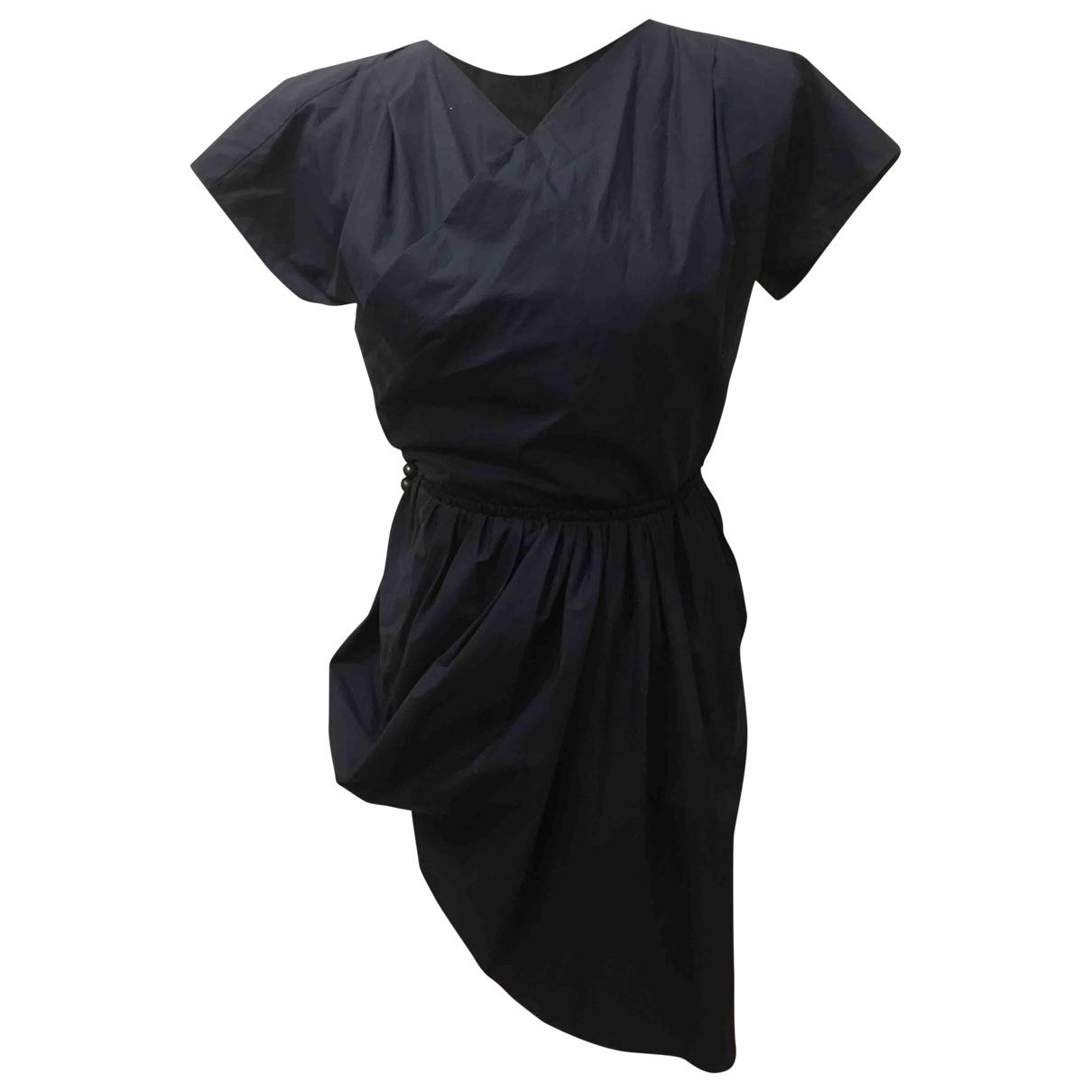 Carven \N Blue Cotton dress for Women 36 FR