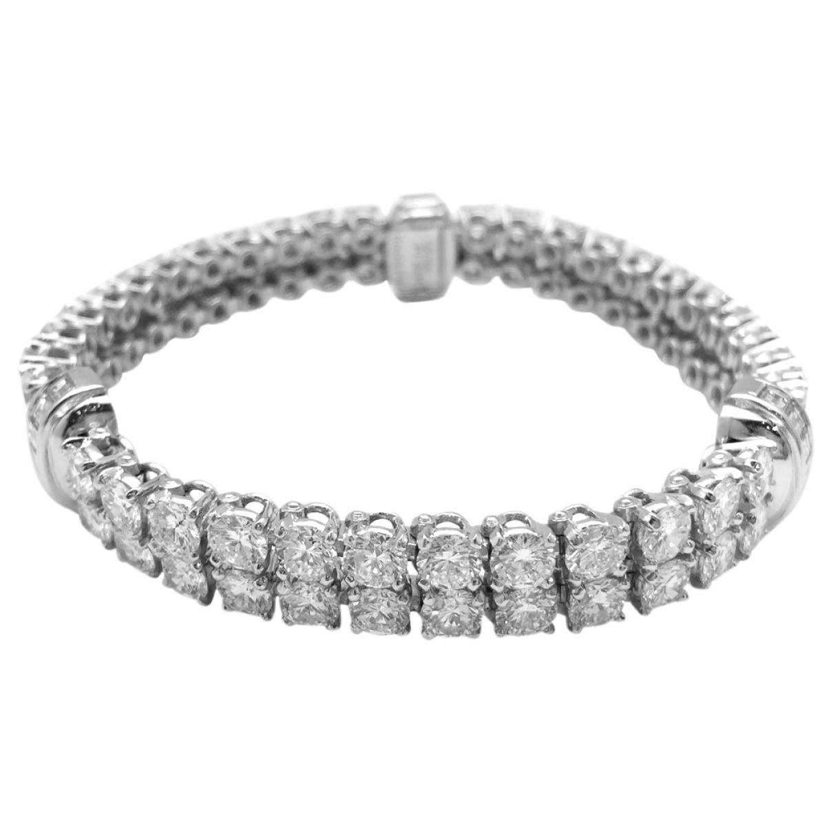 Cartier - Bracelet   pour femme en platine