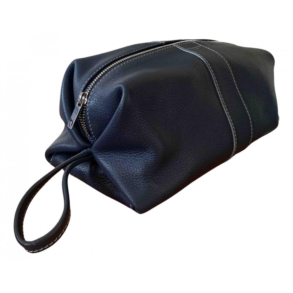 Le Tanneur - Petite maroquinerie   pour homme en cuir - bleu