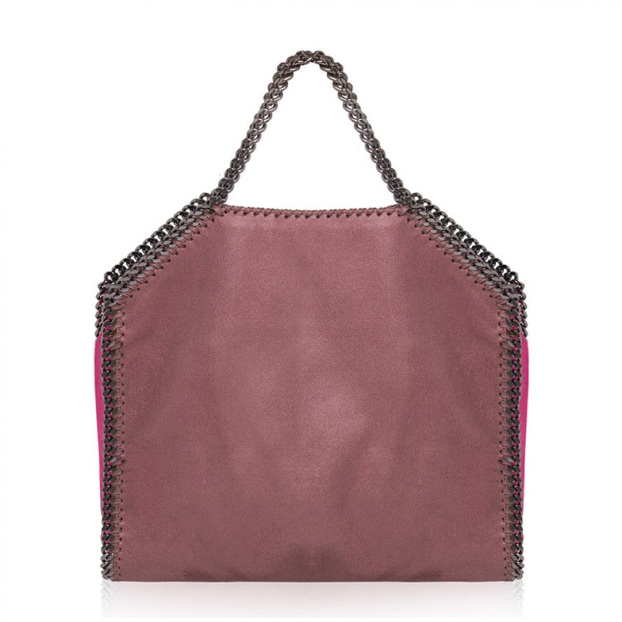 Stella Mccartney Falabella Handtasche in  Rosa Synthetik