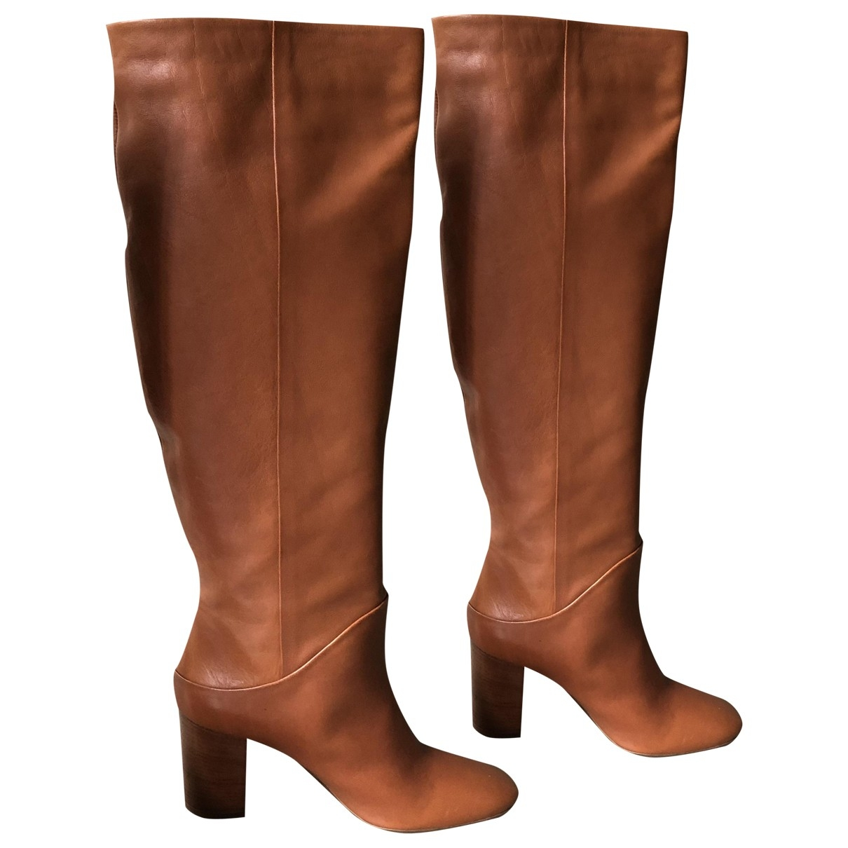 & Stories \N Brown Leather Boots for Women 39 EU