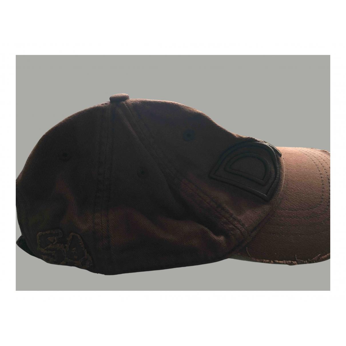 D&g N Brown Cotton hat & pull on hat for Men L International
