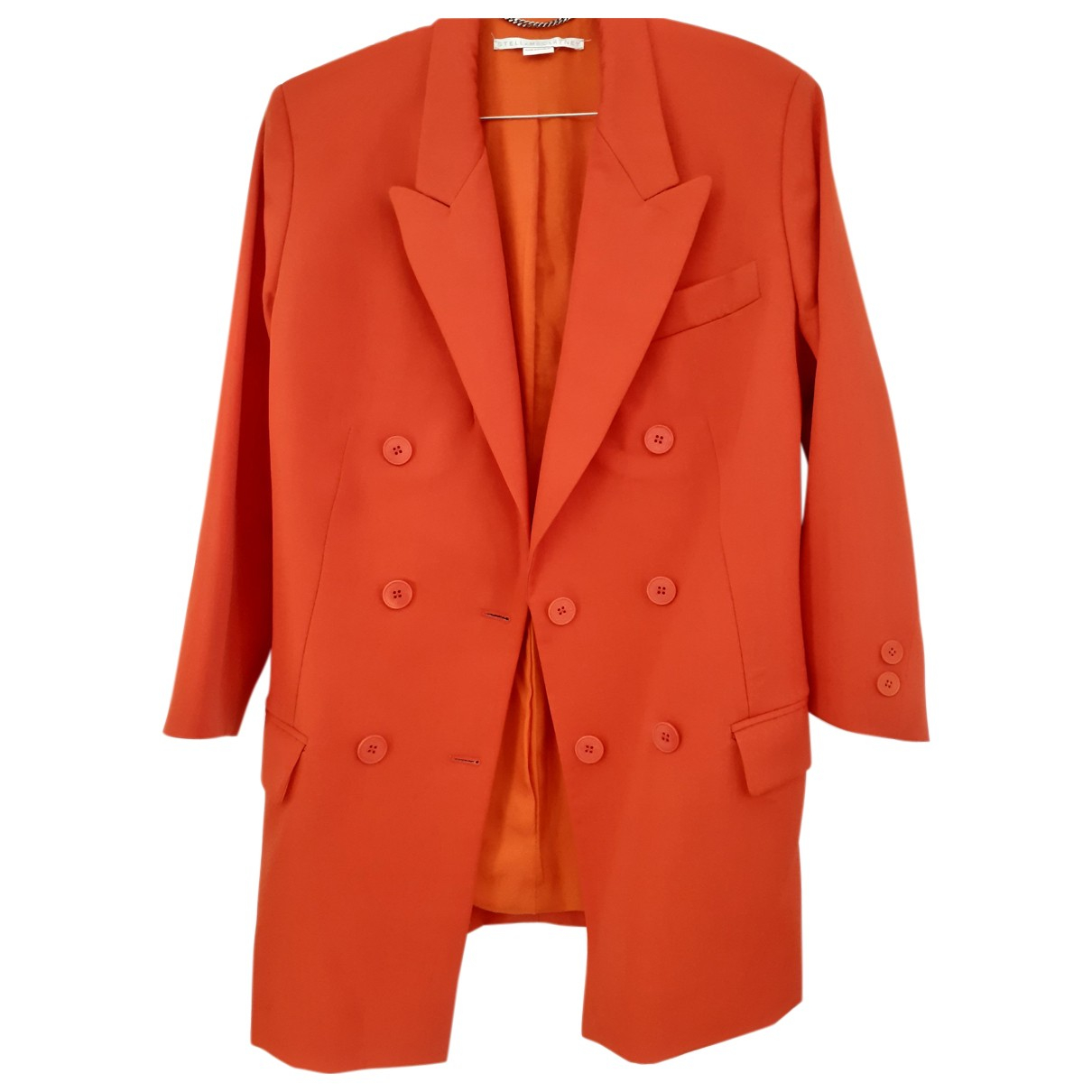 Stella Mccartney - Veste   pour femme en laine - orange