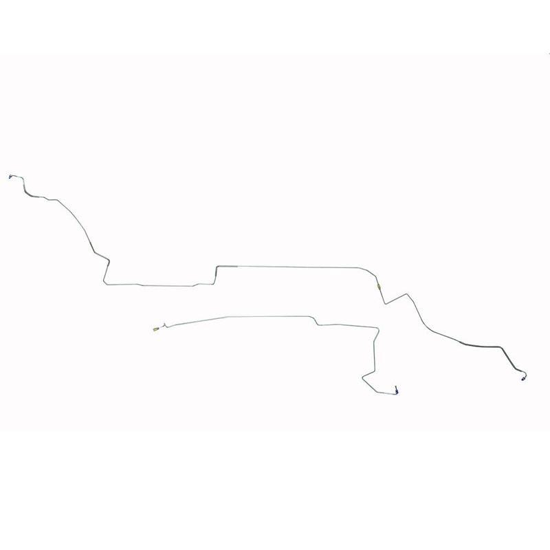 Fine Lines ZIN8701TOM Intermediate Brake Line For 87-93 Ford Mustang V8w/ Subframe Connectors Steel