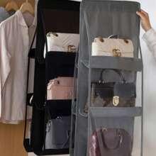 1pc 6 Pocket Bag Hanging Organizer