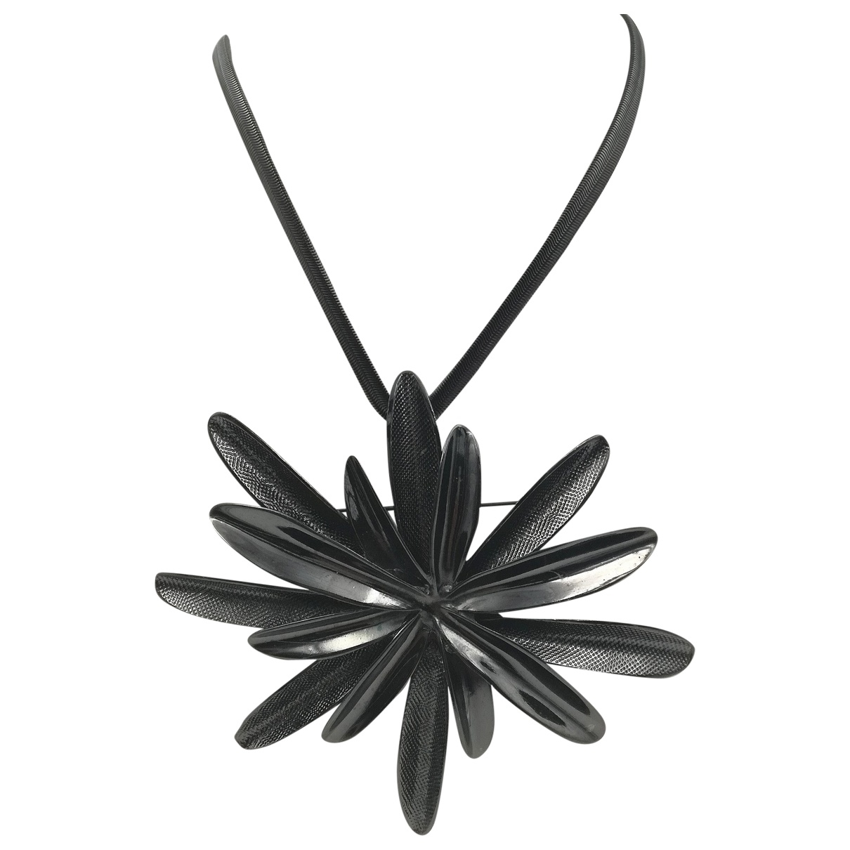 Sport Max \N Anthracite Metal necklace for Women \N