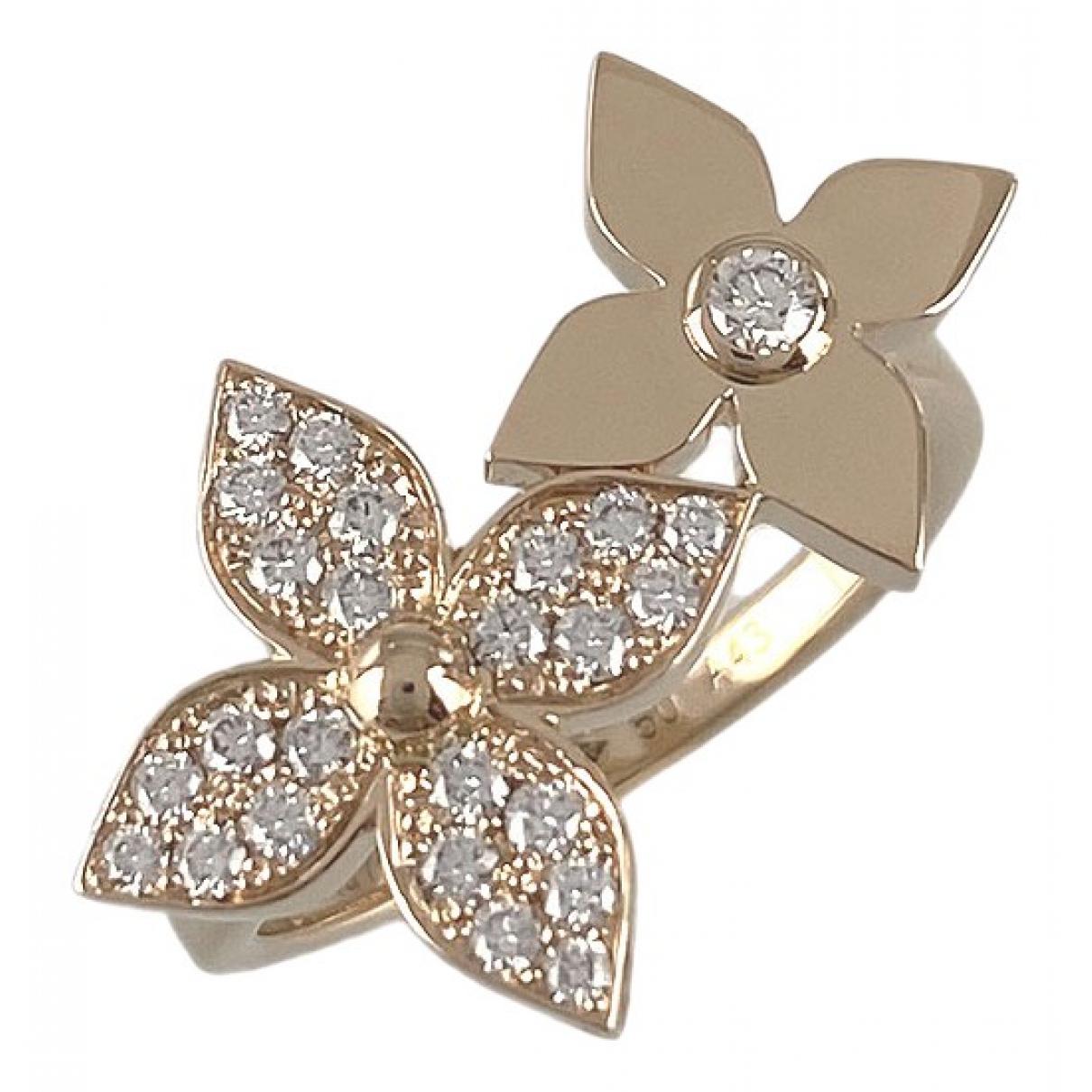 Louis Vuitton - Bague   pour femme en or rose - dore