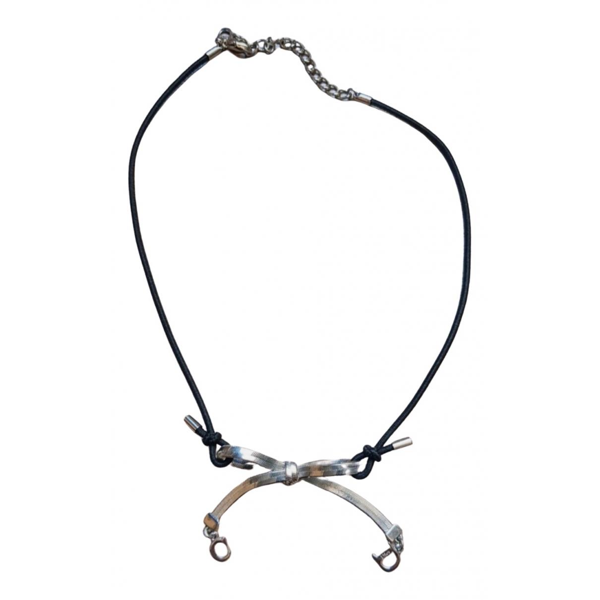 Dior - Pendentif   pour femme en metal - noir