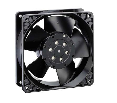 ebm-papst , 230 V ac, AC Axial Fan, 119 x 119 x 38mm, 100m³/h, 10W, IP20