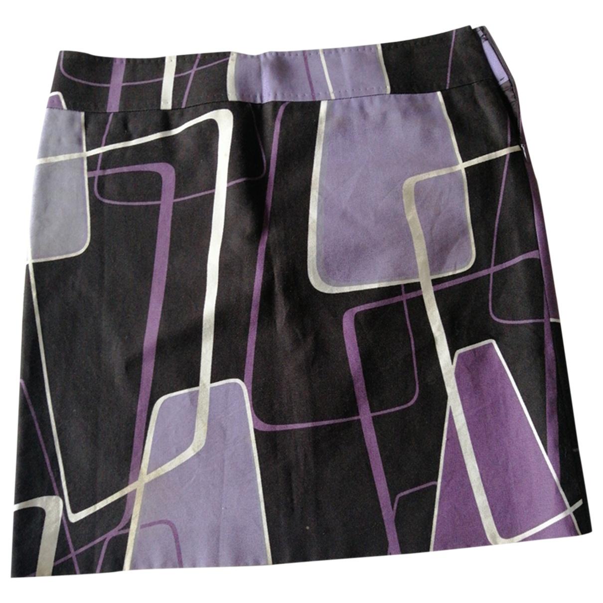 Max Mara - Jupe   pour femme en coton - multicolore