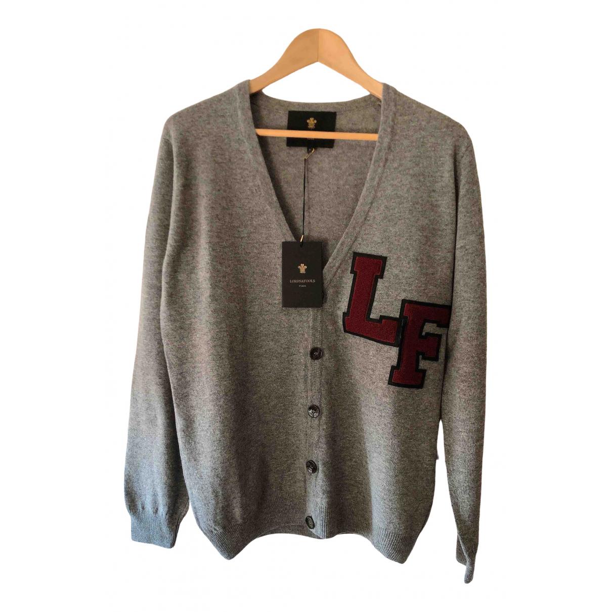 Lords & Fools \N Pullover.Westen.Sweatshirts  in  Grau Wolle